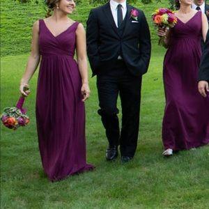 d3b5a237c1d Bill Levkoff Dresses - Bill Levkoff Bridesmaid Dress Sangria Size 6